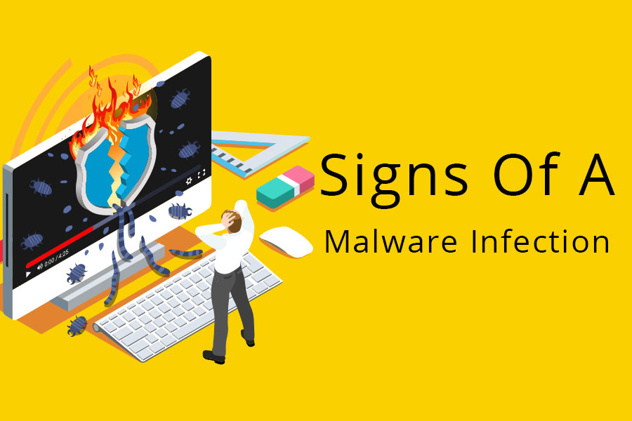 12 signs your system has Malware infection
