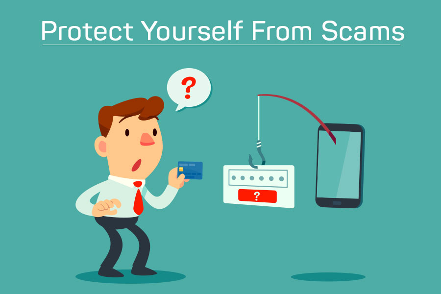 stay protected from scam