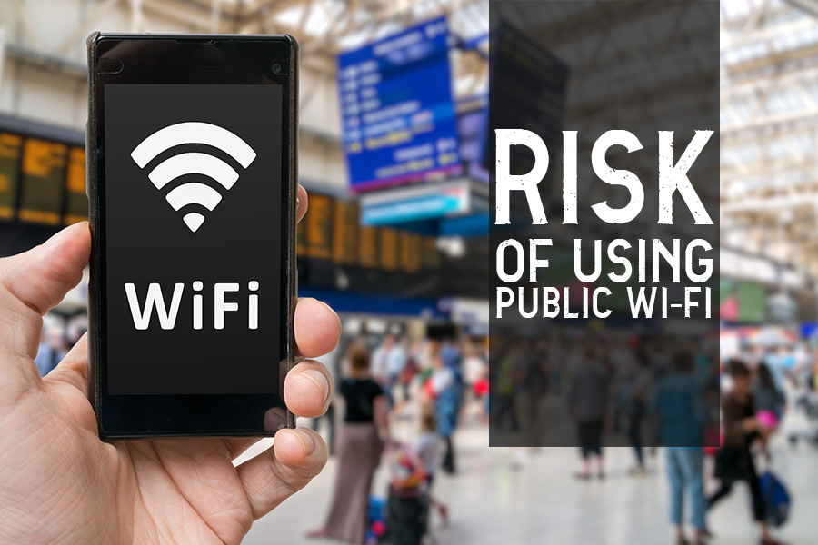 Risk of using public WiFi