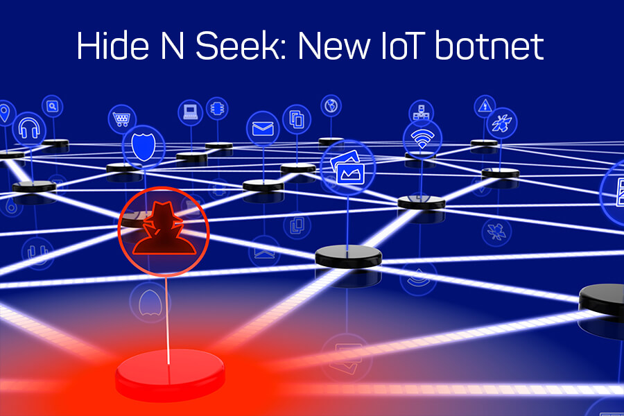 hide and seek new iot botnet