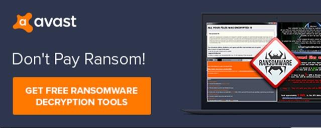 Avast Free Ransomware Decryption Tool