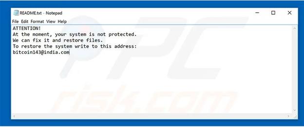 malicious ransomware