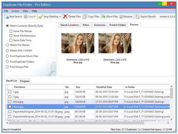 AshiSoft Duplicate File Finder