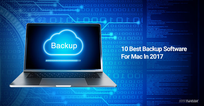 10 best backup software for mac in 2017