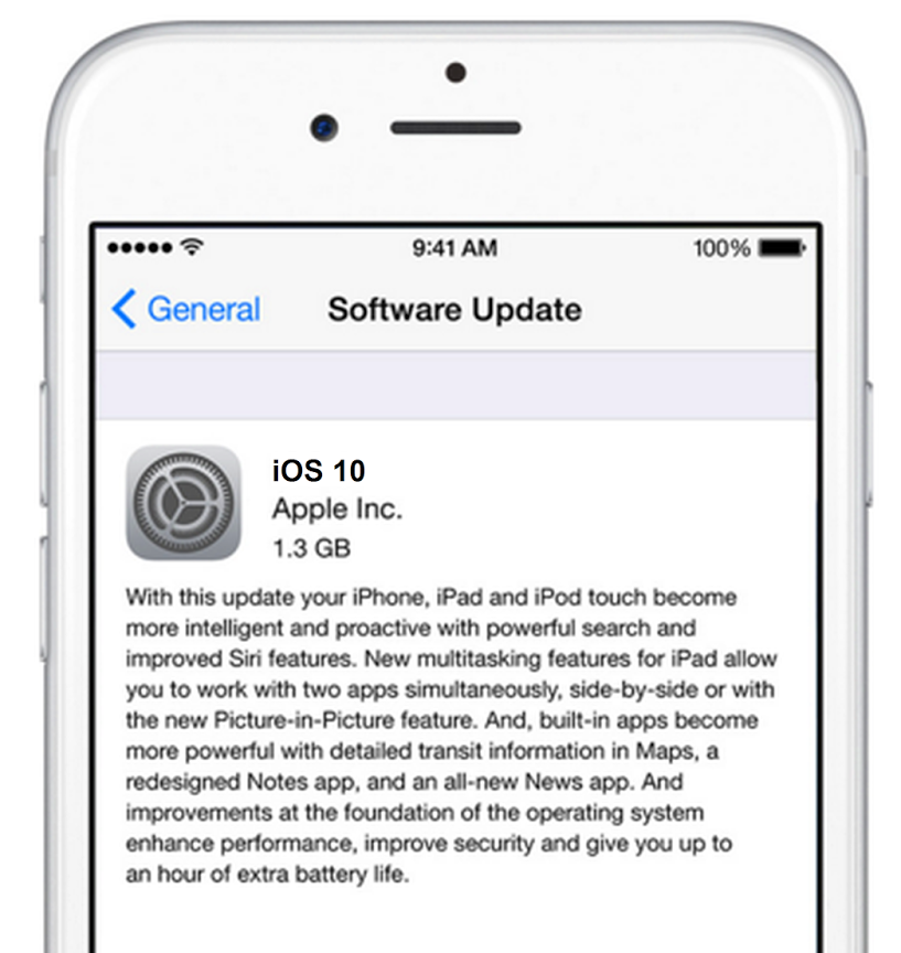 how to update iOS 10 on iPhone 5