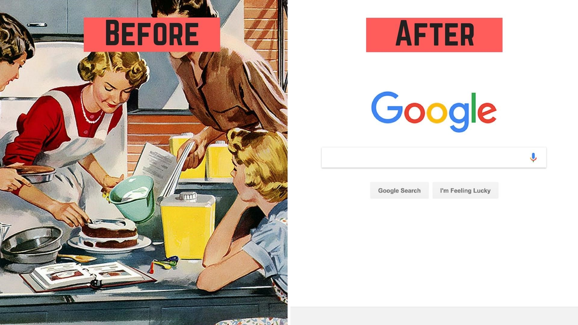 before and after internet in older people