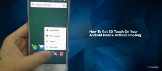 3Dtouch on android