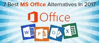 7 Best Alternatives Of Microsoft Office In 2017