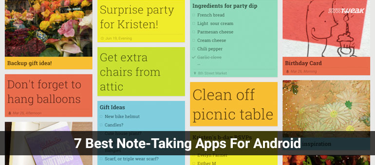 7 Best Note-Taking Android Apps To Make You Remember Things!
