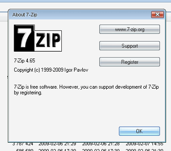 7-Zip-best encryption software 2017