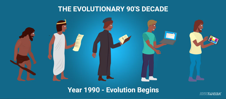 90's – The Milestone Decade for Technologies – Year 1990 Evolution Begins