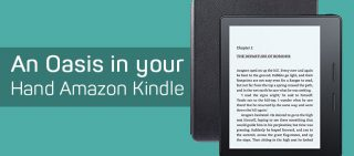 Amazon Kindle Oasis- Dive in the World of Books