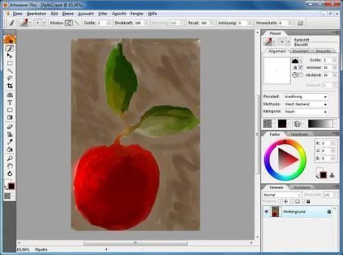 Artweaver-edit photos on windows