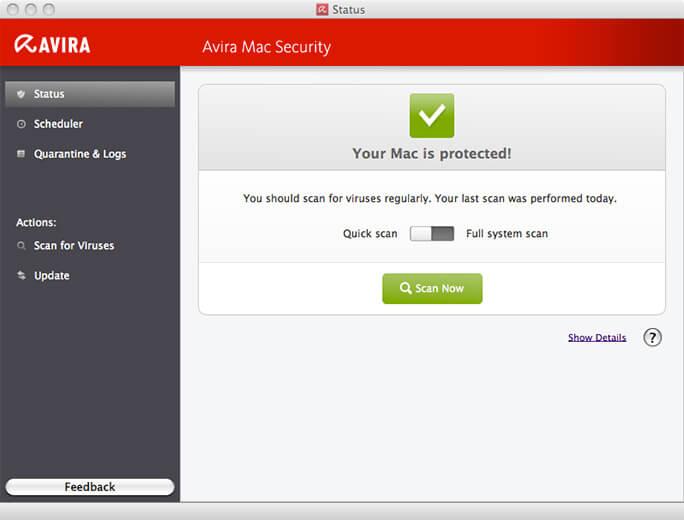 Avira-Mac antivirus best