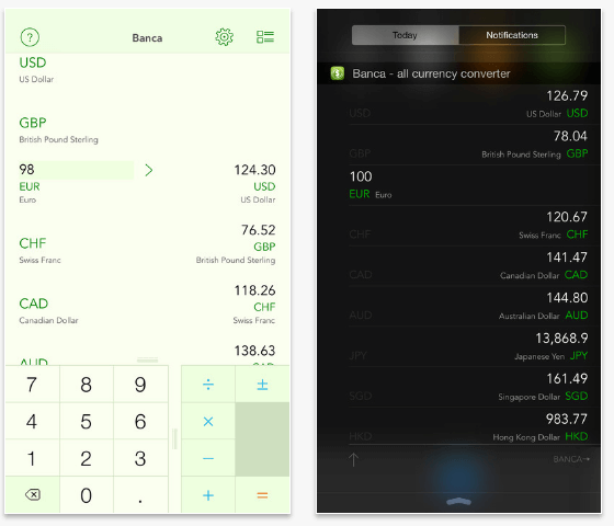 Banca Currency Converter