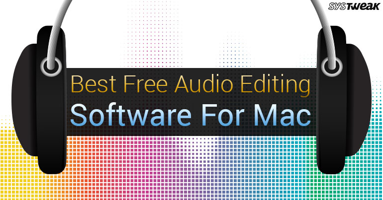 Best Free Audio Editing Software For Mac