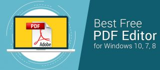Best Free PDF Editor For Windows 10, 7, 8