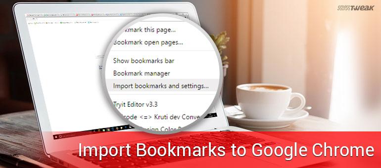 Bookmarks for google chrome