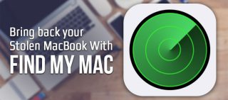 Bring Back Your Stolen MacBook With Find My Mac