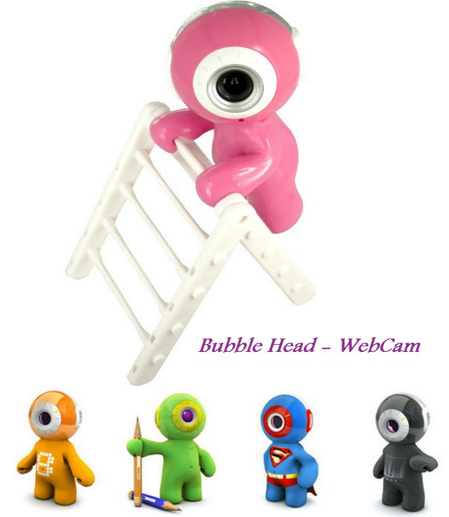 Bubble Head Webcam