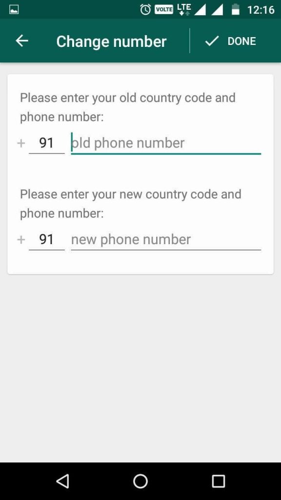 Change Your Phone Number Keeping The Same WhatsApp Account