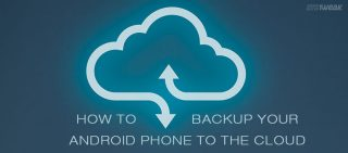 cloud backup on android by systweak right backup