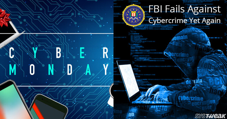 Cyber Monday Sale & FBI Fails To Alert US Targets Of Russian Hackers