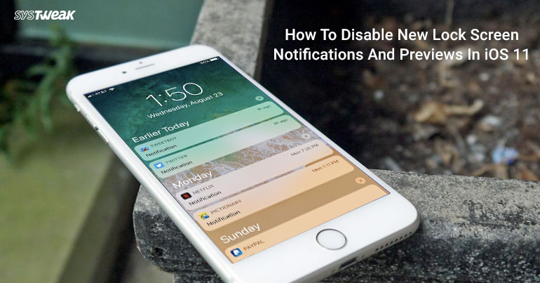 Disabling Lock Screen Notifications And Previews In iOS 11