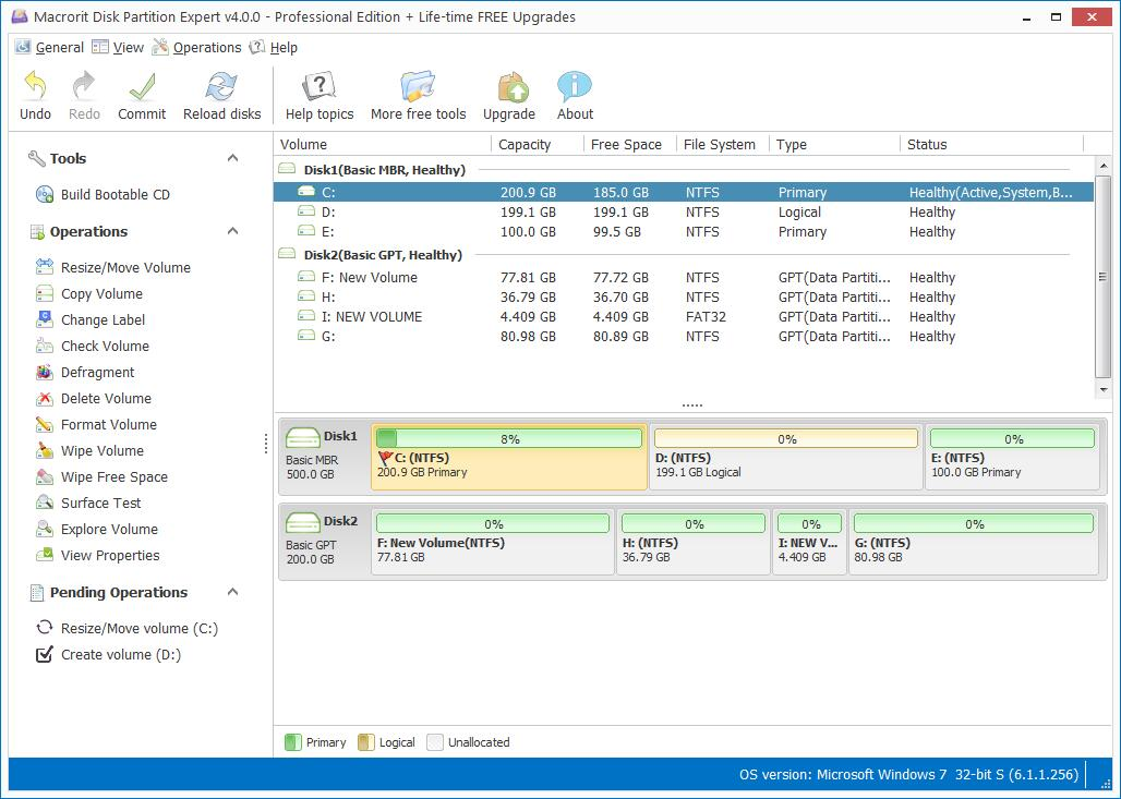 Disk Partition Professional Edition