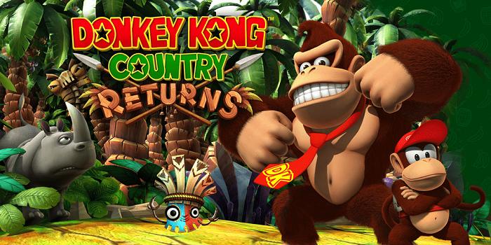 donkey-kong-country-returns on Nintendo Switch