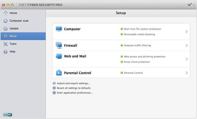 Eset Cyber Security Pro Mac