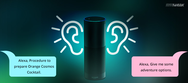 Features of Amazon Intelligent Voice Service – ALEXA