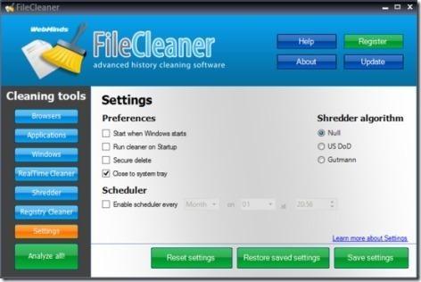 how to delete junk file in window 10
