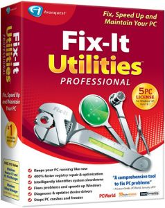 Fix-It Utilities Pro best system cleaner software