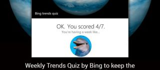Follow the Latest Trends With Bing's Weekly Trends Quiz