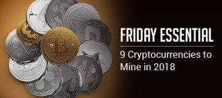 Friday Essential 9 Cryptocurrency to Lookout for 2018!