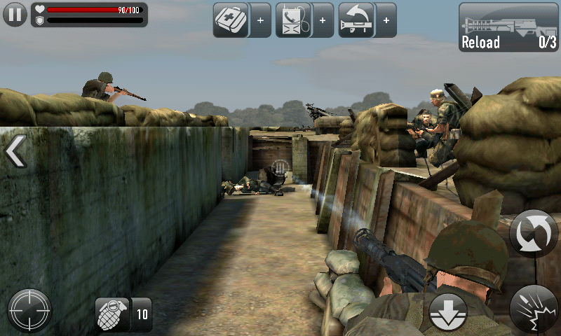 frontline commando d-day best android game