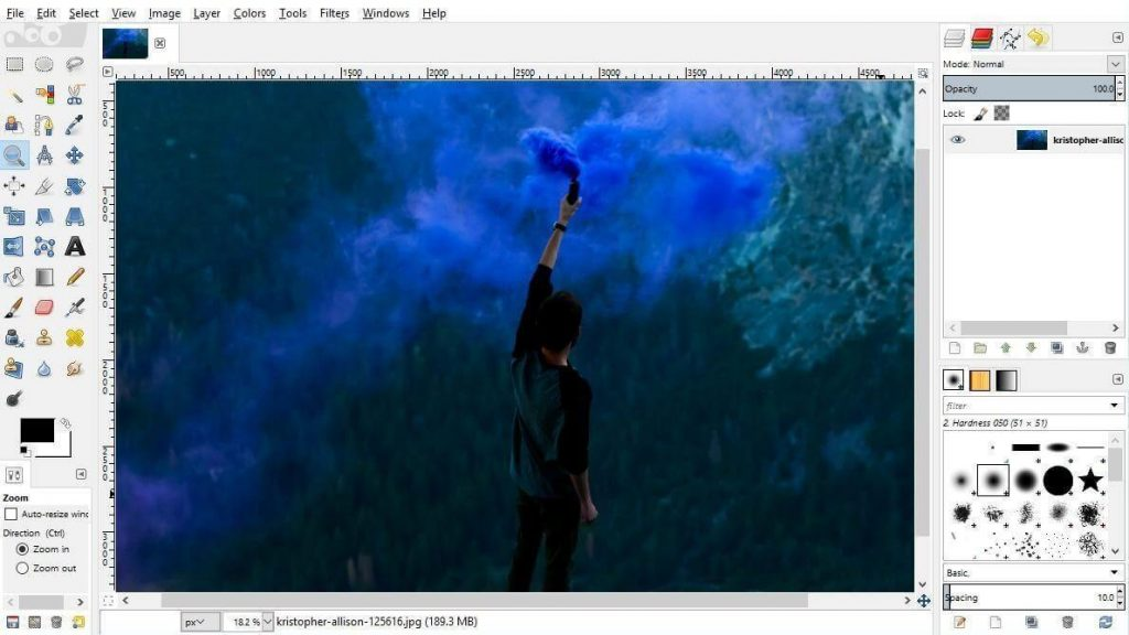 GIMP- best photo editor windows 2017