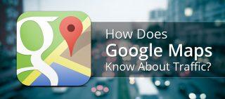 How Google Maps Provide Traffic Updates