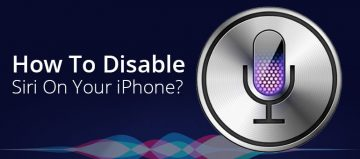 How To Disable Siri On Your iPhone