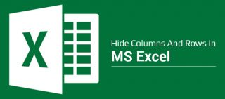 How To Hide Columns And Rows in excel