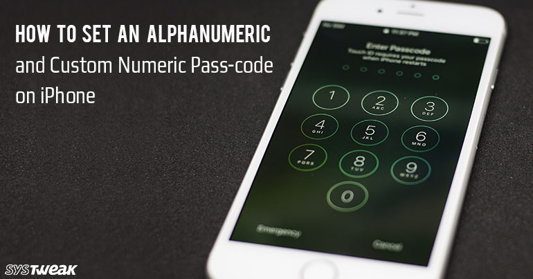 How To Set An Alphanumeric And Custom Numeric Passcode On iPhone