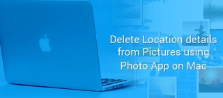 How to Remove Location from Photos on Mac
