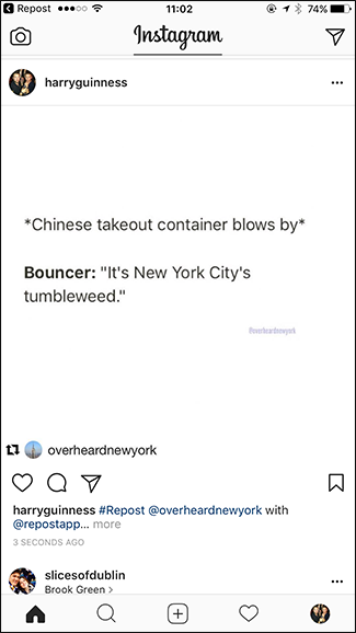 Repost your Instagram Photos