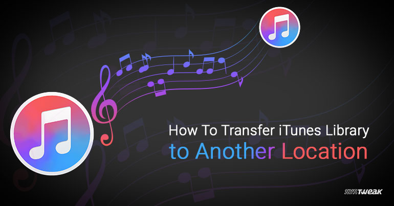 how to transfer itunes downloads to another hard drive