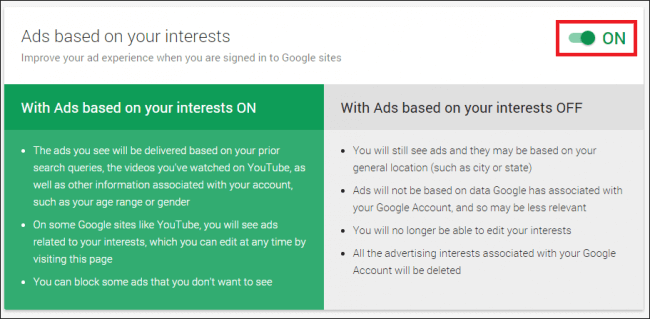 How to Tweak Your Ad Settings and Connected Accounts