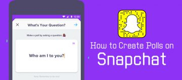 How to make poll on Snapchat