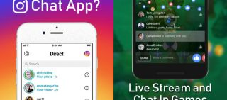 Instagram Testing For Direct Message App & Facebook Now Supports Live Streaming And Videos Chats In Messenger Games