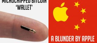 Is There Microchipped Bitcoin Wallet In Future & Apple Informed iCloud China Data Migration Notice Was Sent By Mistake