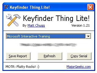 Keyfinder Thing
